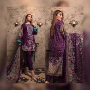 7463b3027e Sahil Collection – Purple Shalwar Suit